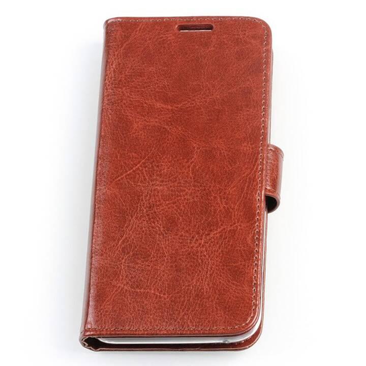 EG Mornrise Wallet Case fuer Samsung Galaxy S10 Plus - Braun