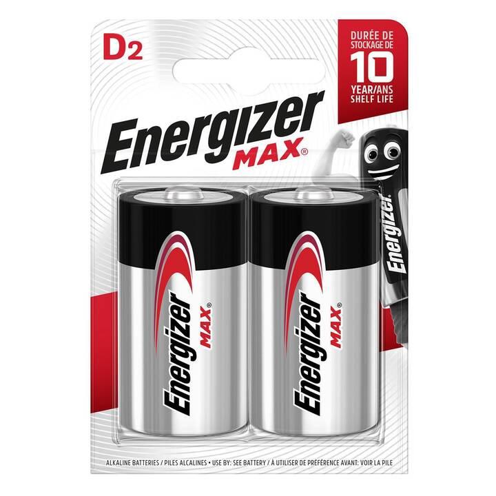 ENERGIZER Batterie (D / Mono / LR20, 2 pièce)