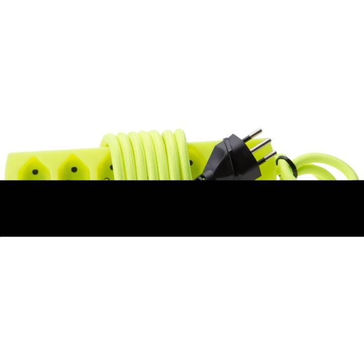Bâti de prises MAXTEX 5x T13 avec câble textile