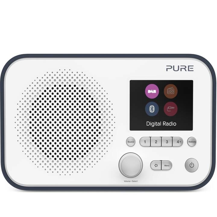 PURE Elan BT3 Radio digitale (Blu, Bianco)