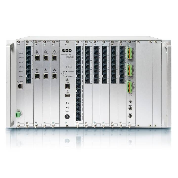 AUERSWALD COMmander 6000RX Hybrid PBX Serveur de communication