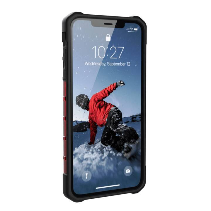 UAG Back Cover Plasma iPhone XS Max Magma Red