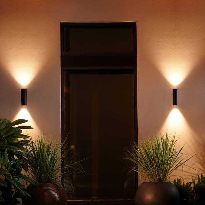 PHILIPS HUE Appear Lampada da parete (LED incorporato, 16 W, Nero)