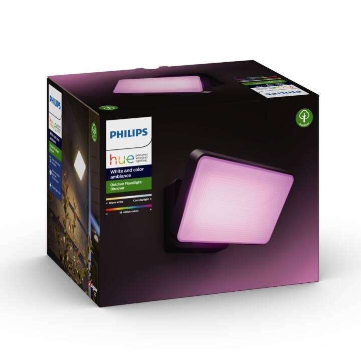 PHILIPS HUE Projecteur extérieur Discover (LED incorporé, 30 W, Noir)