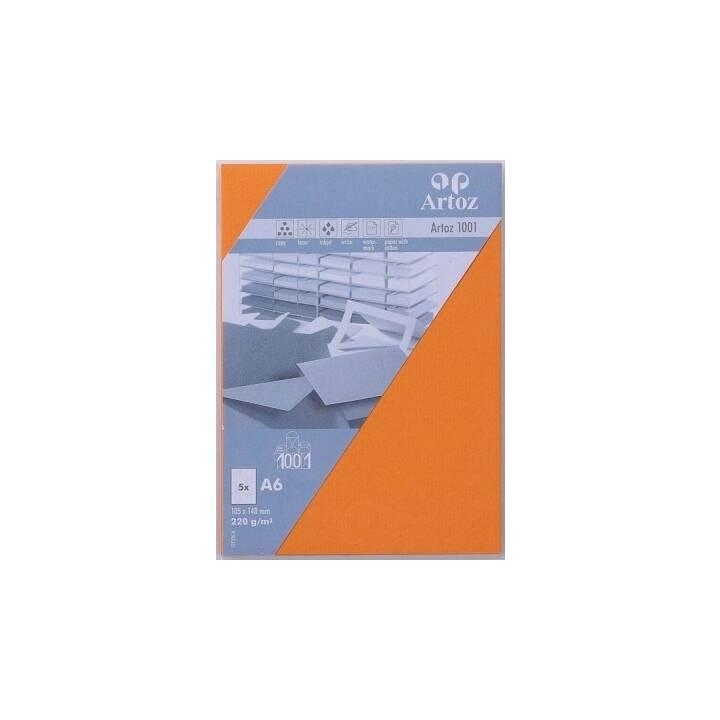 ARTOZ Blankokarte (Universal, A6, Orange)