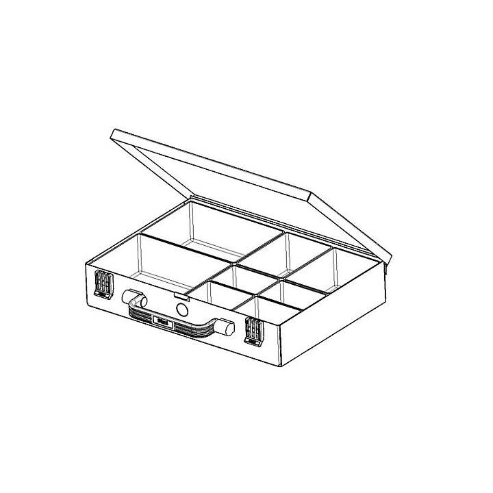 EUROKRAFT assortment case, 240 mm