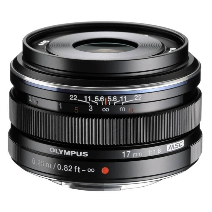 OLYMPUS Weitwinkelobjektiv 17 mm f/1.8