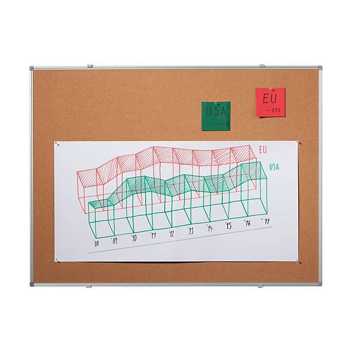 QUIPO Pinnwand Basic Line (150 cm x 100 cm)