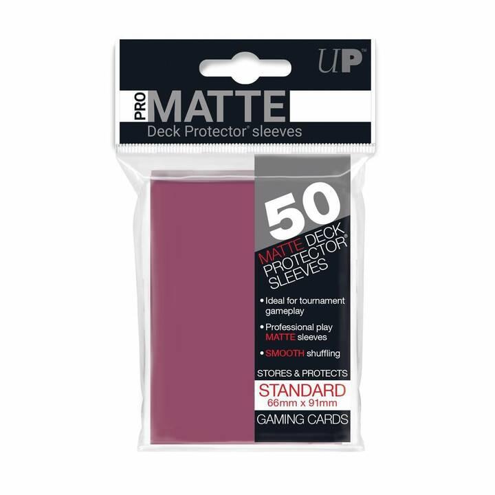 ULTRA PRO Matte Deck Protector Aufbewahrung (Violett, 50 Stück)