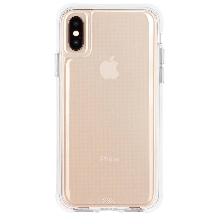 CASE-MATE Backcover Tough Clear (iPhone XS Max, Transparent)