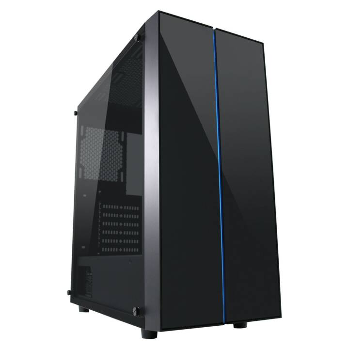 LC POWER 994B Custodia in vitreous PC