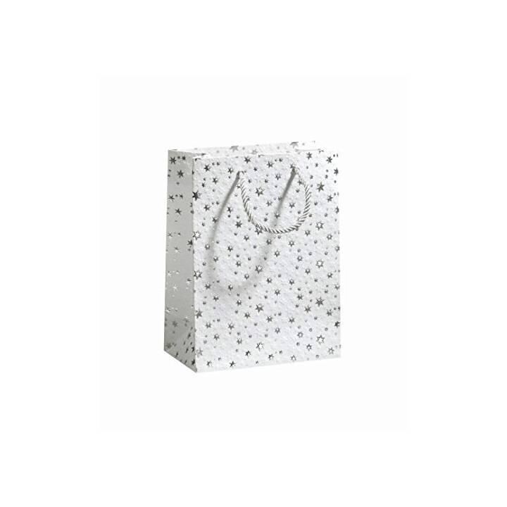 ZÖWIE Borse regalo Sparkling Stars (Bianco, Lavorato)
