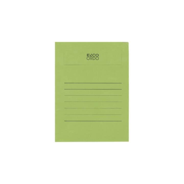 ELCO Sichthülle Ordo volumino A4 grün 50 Stück