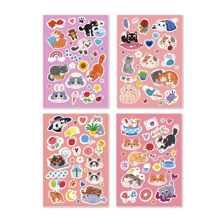 DODO Sticker (Katzen)