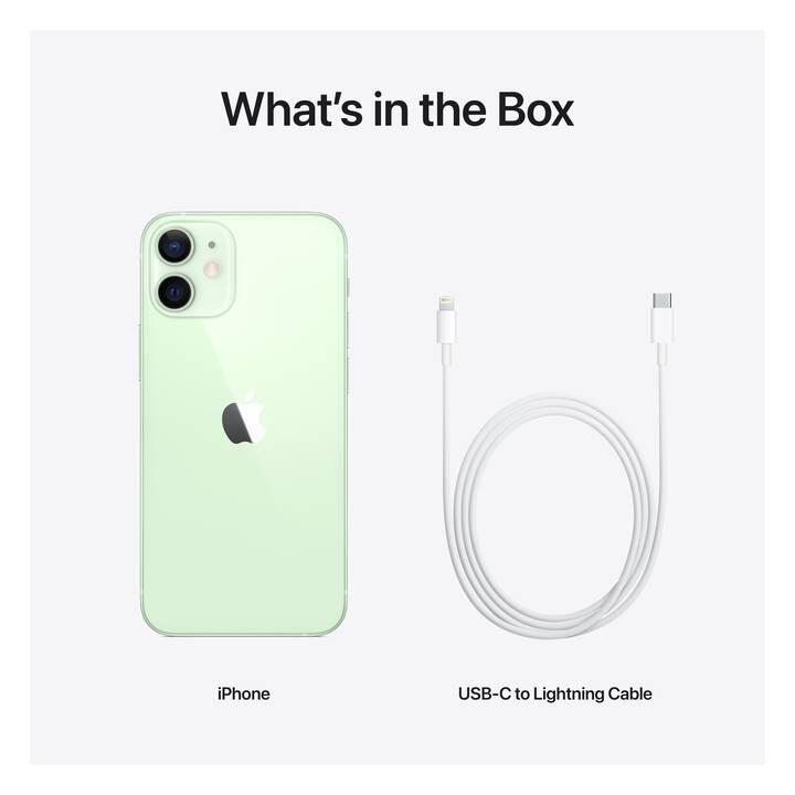 "APPLE iPhone 12 mini (5G, 5.4"", 64 GB, 12 MP, Grün)"