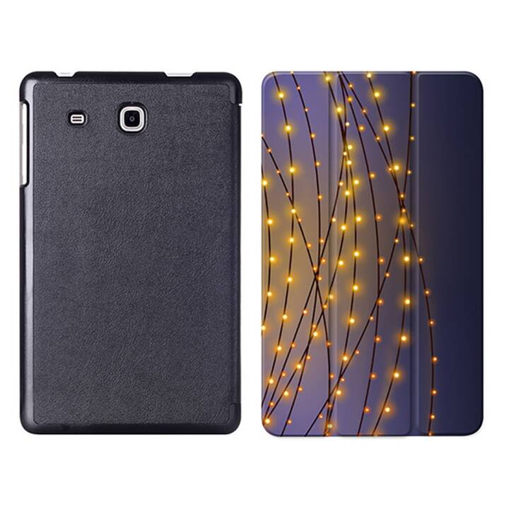 """EG MTT Sacoche à comprimés avec housse Smart pliable pour Samsung Galaxy Tab A A6 7"""" Tablet - Chaîne légère"""