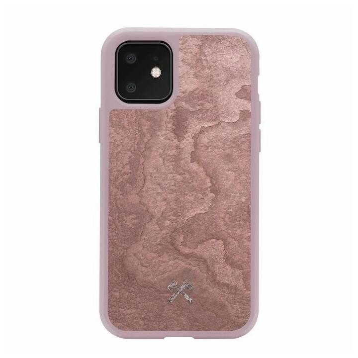 WOODCESSORIES Backcover Stone (iPhone 11 Pro Max, Rosa)
