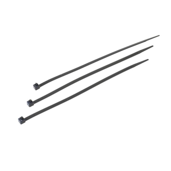 VR-TECHNICS Kabelbinder Schwarz 200 mm x 4.8 mm