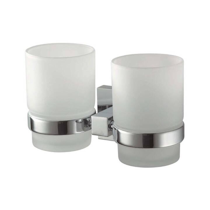 HACEKA Doppelglashalter Mezzo Chrome