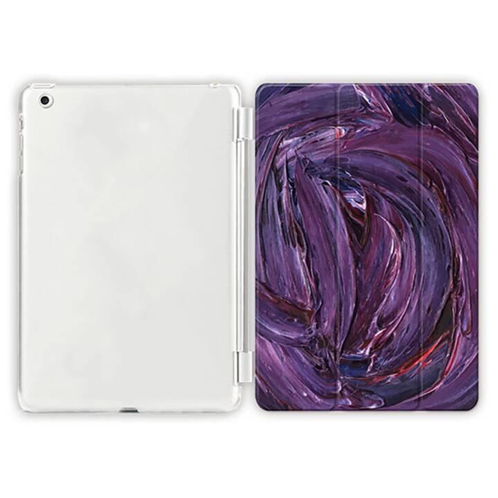 """EG iPad Hülle für Apple iPad 9.7 """"Air 1 - Leinwand lila"""