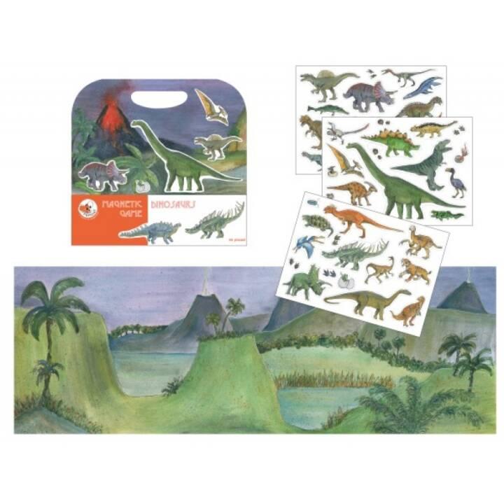 EGMONT Gioco magnetico Dinosaurs