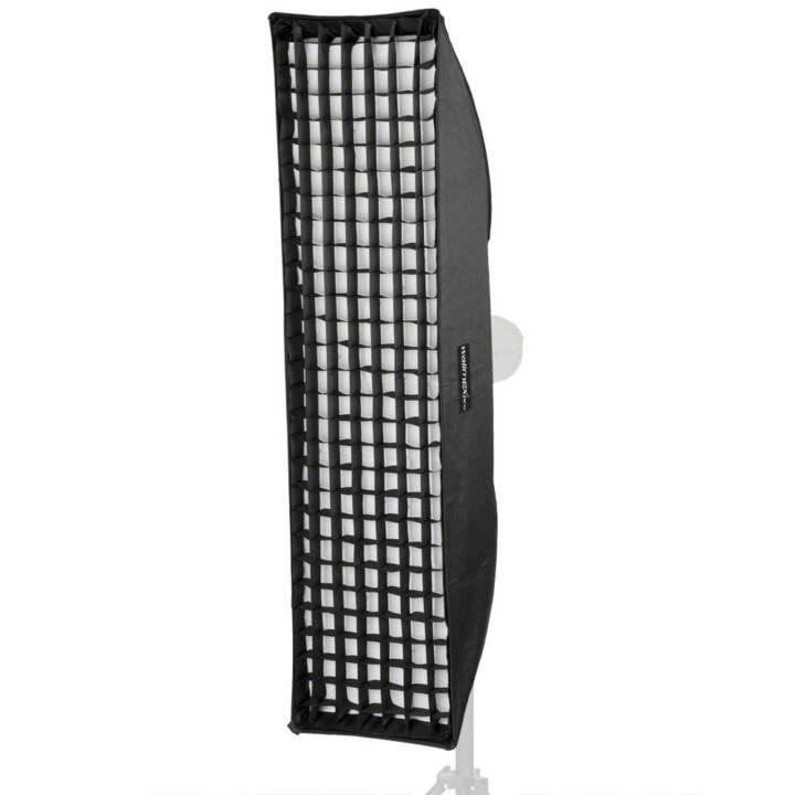 WALIMEX Pro Striplight Plus Softbox, 25 x 180 cm