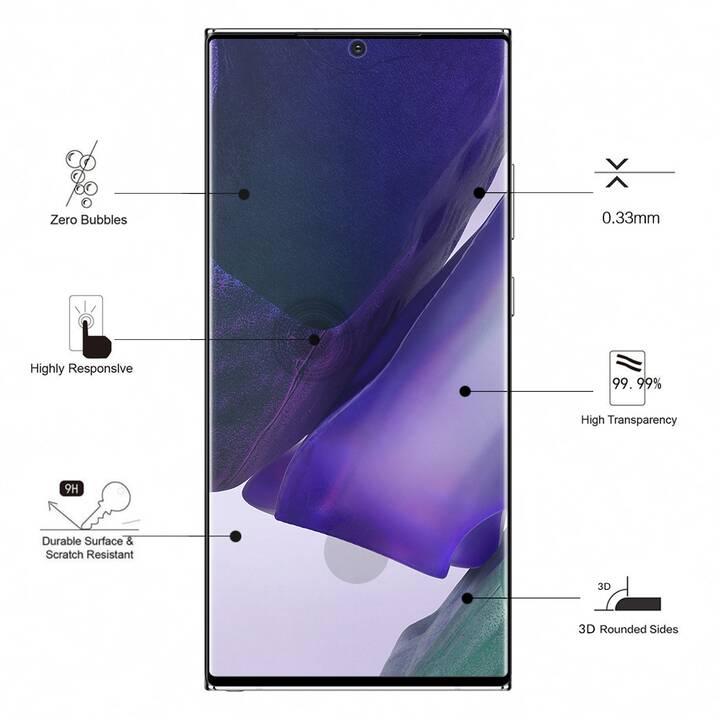 EIGER Displayschutzglas 3D Glass (Klar, Galaxy Note 20 Ultra)