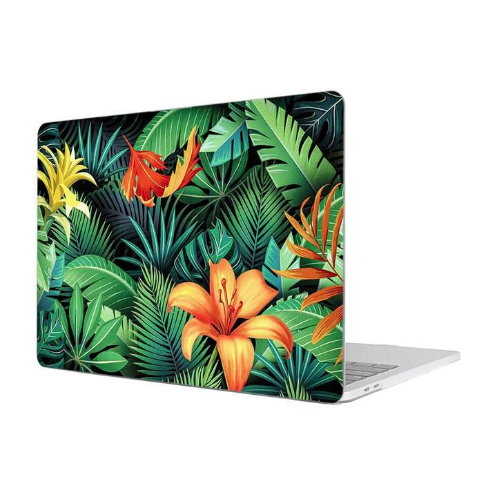 """EG MTT Housse pour MacBook Pro 13"""" Touchbar (2016 - 2018) - Feuilles"""