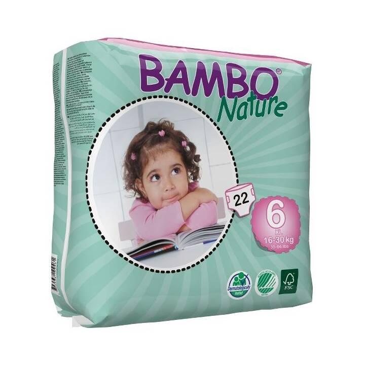 BAMBO Nature Biowindeln XL (Grösse 6)