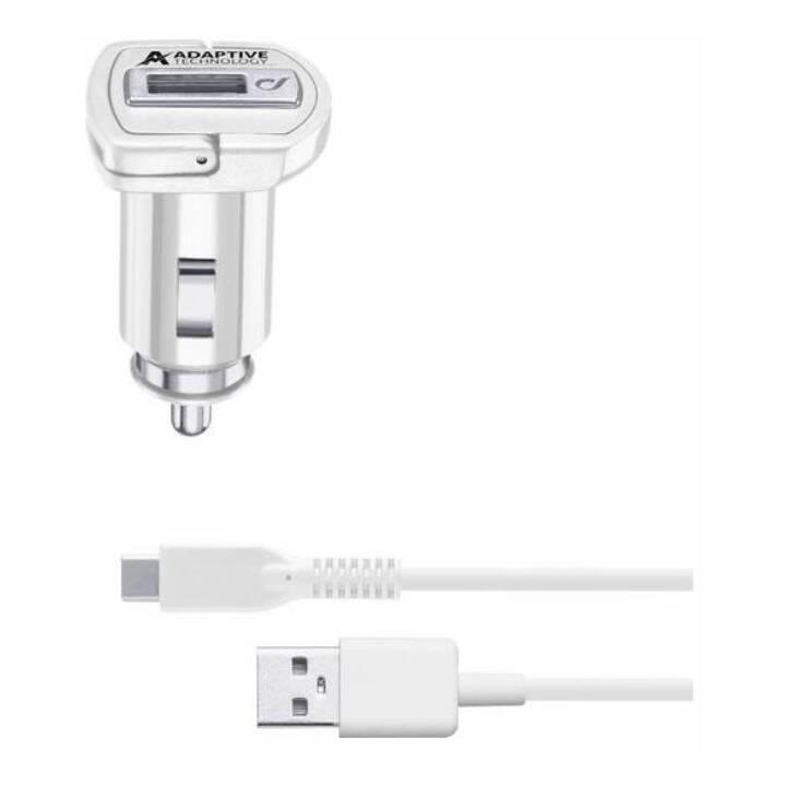 CELLULAR LINE Kfz Ladegerät (USB Typ-C, 1 m)