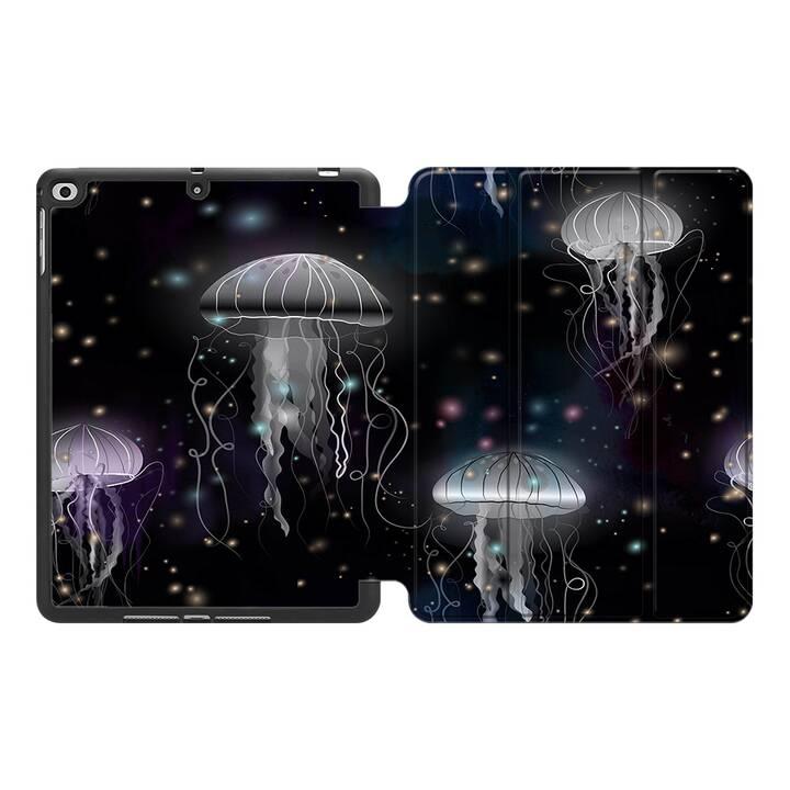 EG MTT Étui en cuir synthétique pour Kindle paperwhite - Jellyfish