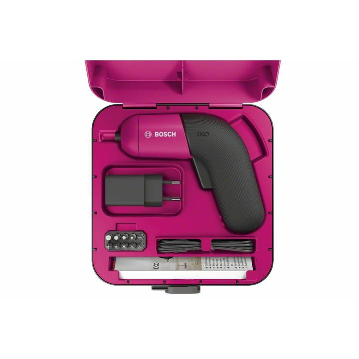 BOSCH Akku-Schrauber IXO 6 pink (1500 mAh, 3.6 V)