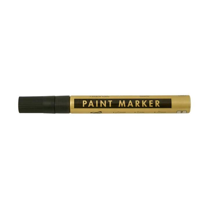 CREAPOINT Metallic Marker gold