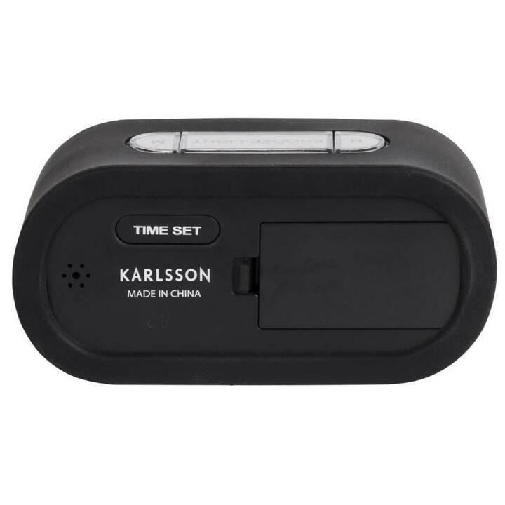 KARLSSON Digitalwecker Gummy (Schwarz)