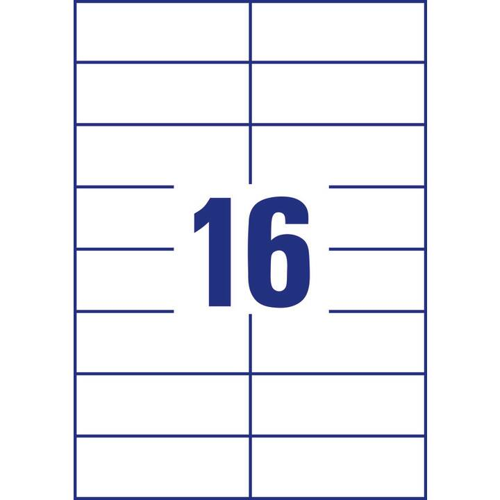 AVERY ZWECKFORM Etichette (100 foglio, A4)