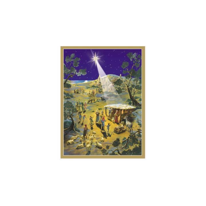 SELLMER Calendario dell'Avvento da cartolina