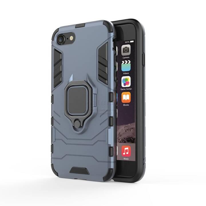 """EG Mornrise custodia con anello in metallo per Apple iPhone SE 4.7"""" 2020 - blu"""