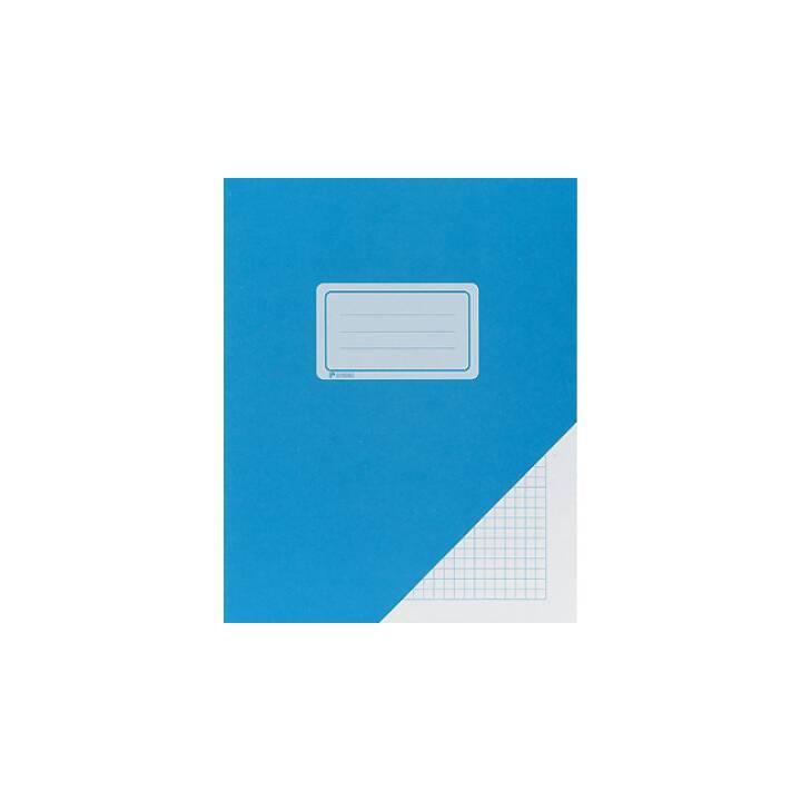 Quaderno BÜROLINE 17,5x22cm quadrettato blu