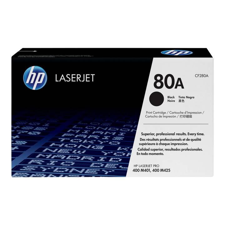 HP 80A (Cartouche individuelle, Noir)