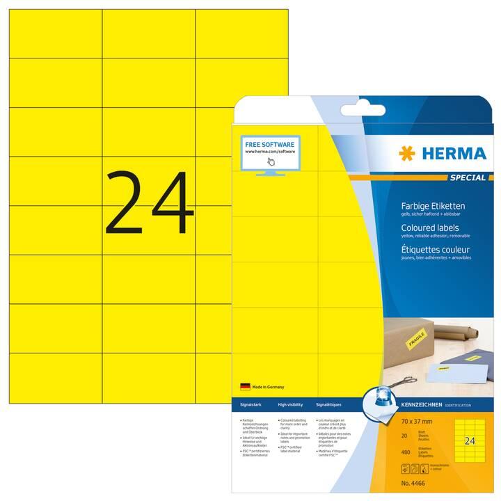 HERMA Etichette (A4, 70 x 37 mm, 20 foglio)