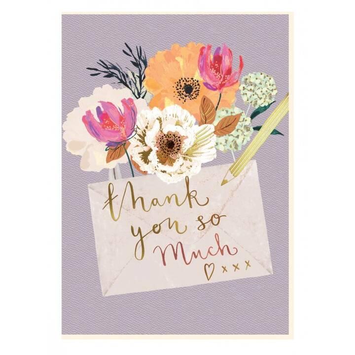 CART Dankeskarte (Dank, Mehrfarbig)