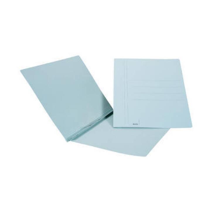Cartelle per inserti BIELLA, A4, blu, 90 fogli, 50 pezzi