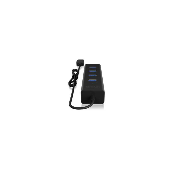ICY BOX Hub (4.0 Ports, USB Typ-A)