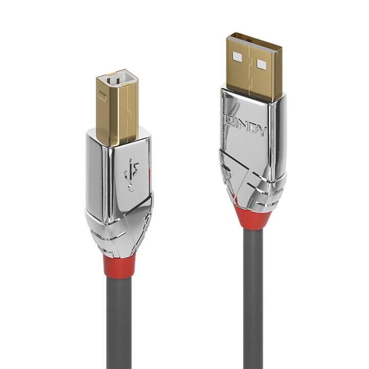 LINDY Câble USB (USB 2.0 Type-B, USB 2.0 Type-A, 5 m)