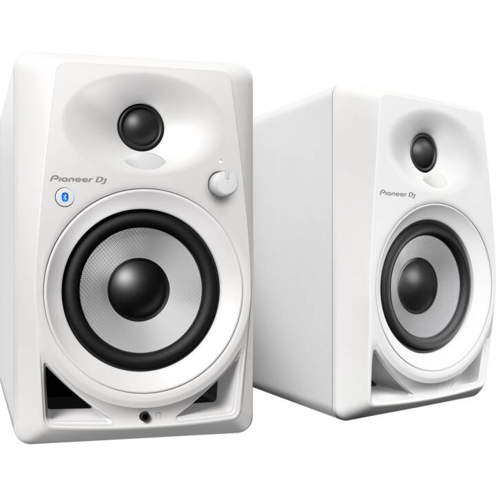 PIONEER DM-40 BT (40 W, Haut-parleurs du moniteur, Blanc)