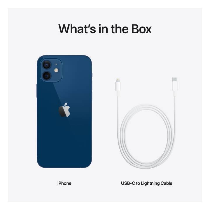 """APPLE iPhone 12 (5G, 6.1"""", 64 GB, 12 MP, Blu)"""