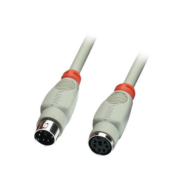 LINDY Câble d'extension clavier/souris, 20 m