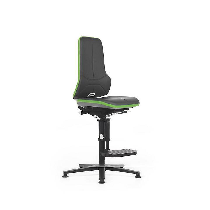 BIMOS Bürostuhl (Schwarz, Grün)