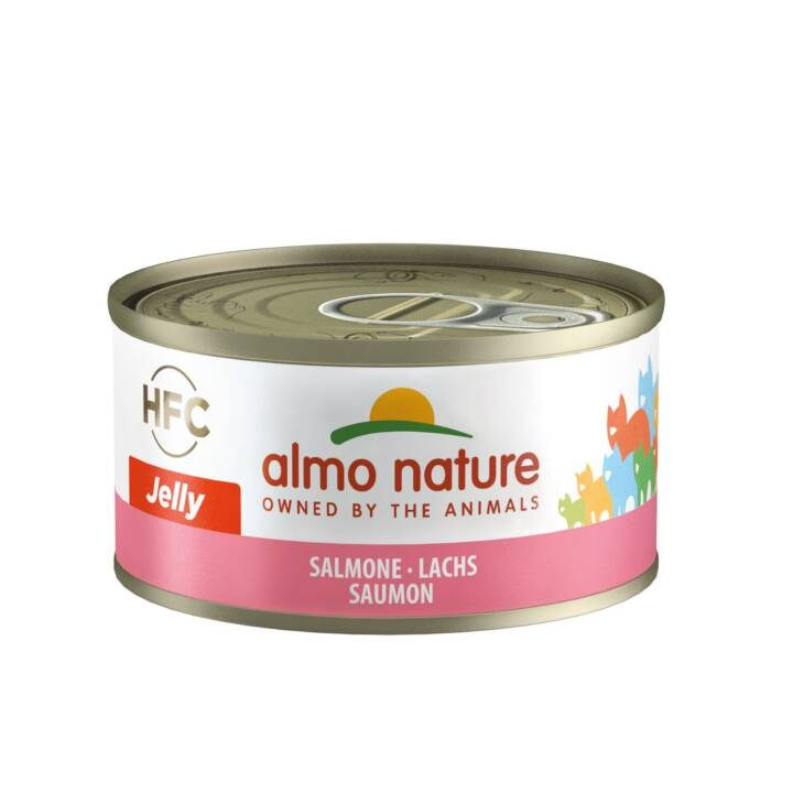 ALMO NATURE HFC Jelly (Adulte, 70 g, Saumon)