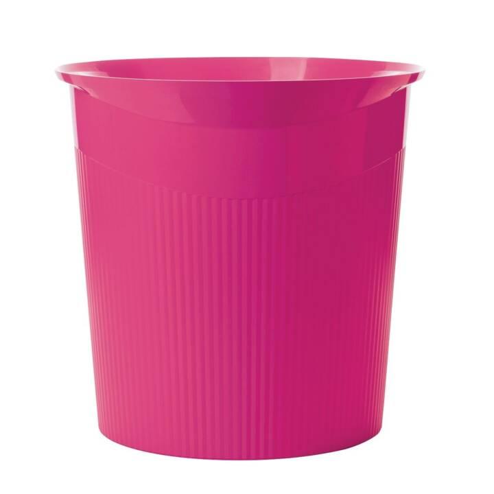 BIELLA Corbeille à papier Han Loop (13 l, Pink)